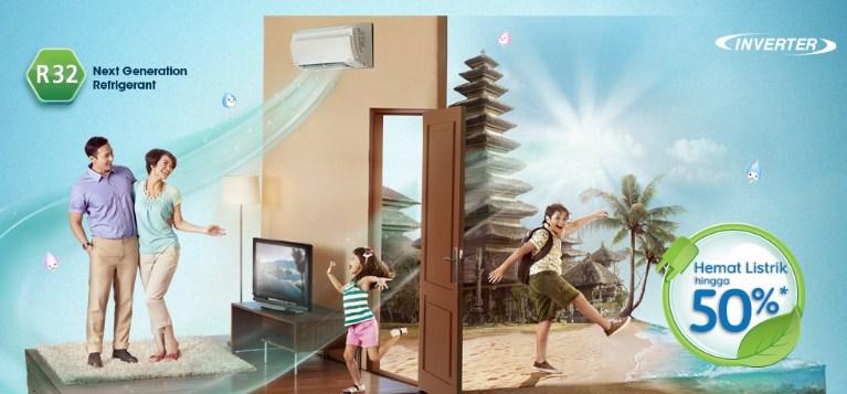 AC Daikin Pilihan Keluarga Hemat Energi