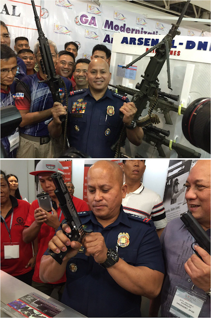 WATCH: Dela Rosa Threatens Drug Lords at Gun Show?