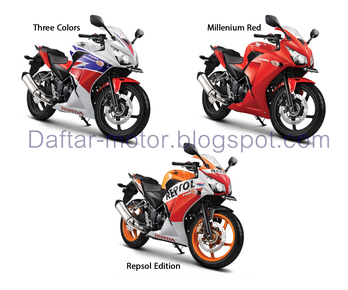 Motor Honda 250CC TerbaruSpesifikasi CBR 250R  Daftar