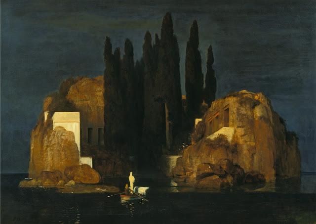 Arnold Böcklin  L'Isola dei Morti (prima versione)