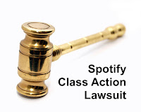 Spotify class action lawsuit image