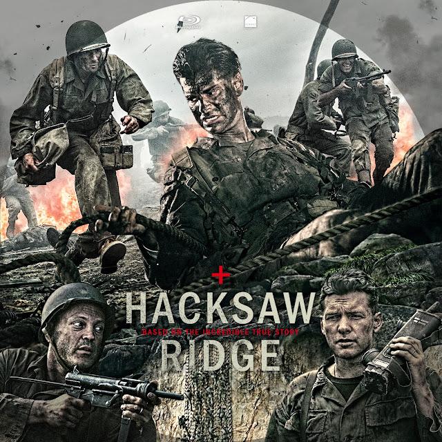 Hacksaw Ridge Bluray Label