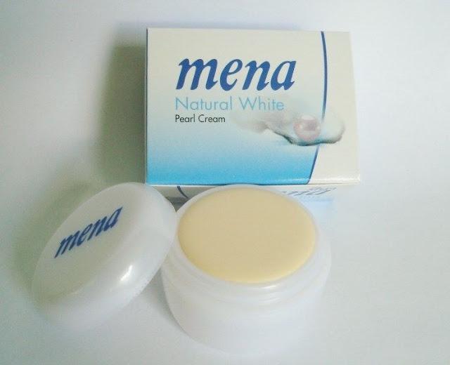 Mena Natural White Pearl Cream Review