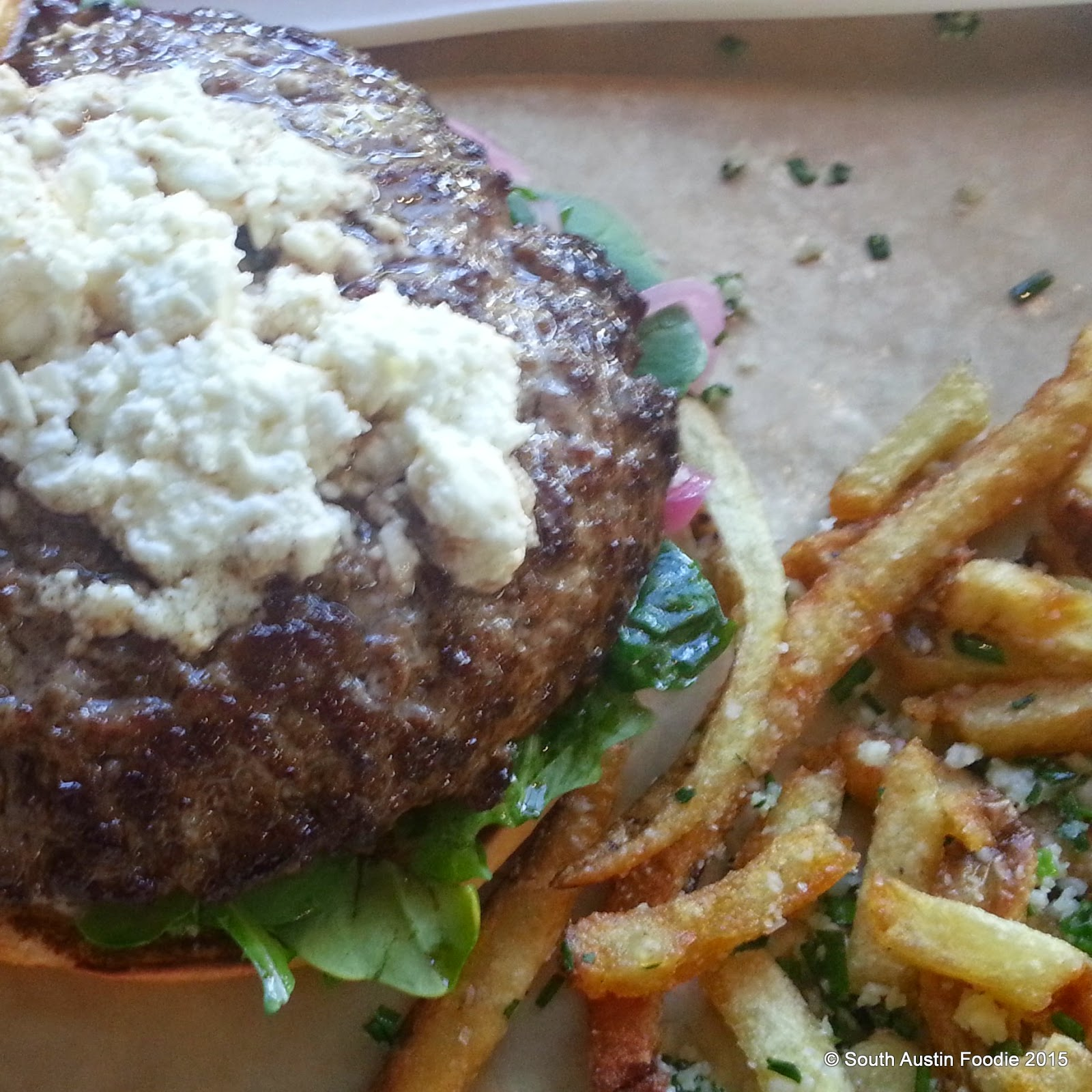 Hopdoddy Greek burger