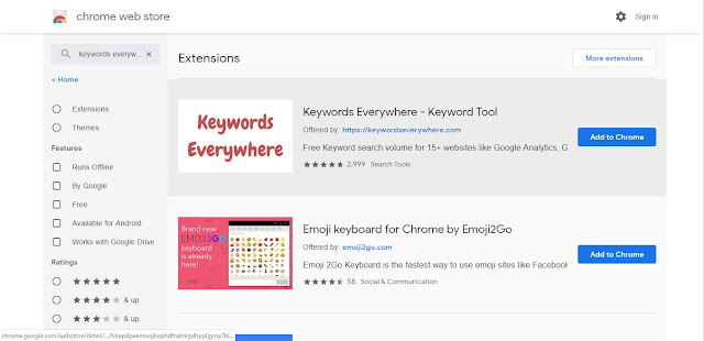 Keyword Everywhere to use Keywordtool.io Pro Free