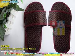 Sandal Hotel Anyaman Daun Pandan