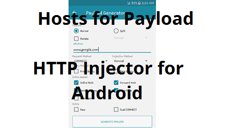 List Of Free Sites For Http Injector Payload Generator Pinoytechsaga