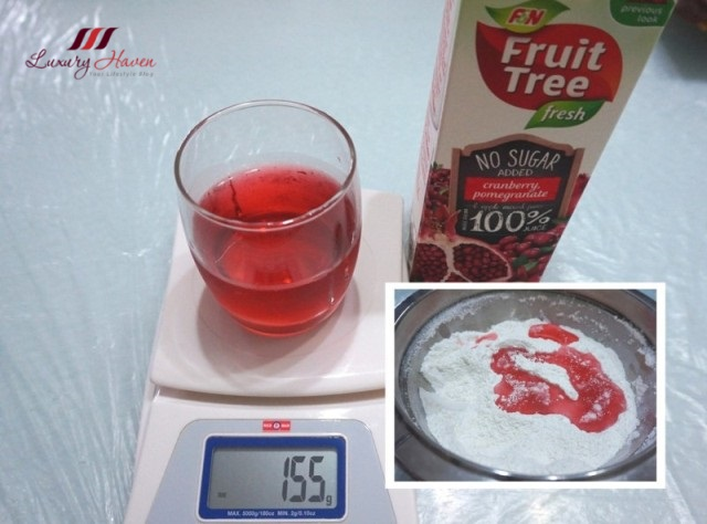 fruit tree cranberry pomegranate apple juice