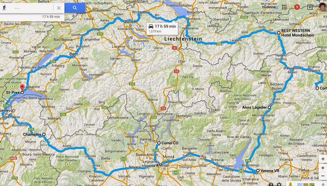 Road Map Of Northern Italy.Tour North Italy Find Your World