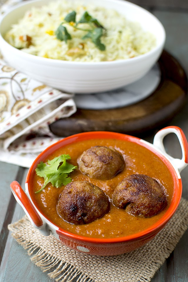 Bengali Jackfruit Kofta Curry