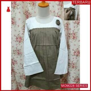 MOM228B15 Baju Hamil Menyusui Modis Rose Bajuhamil Ibu Hamil