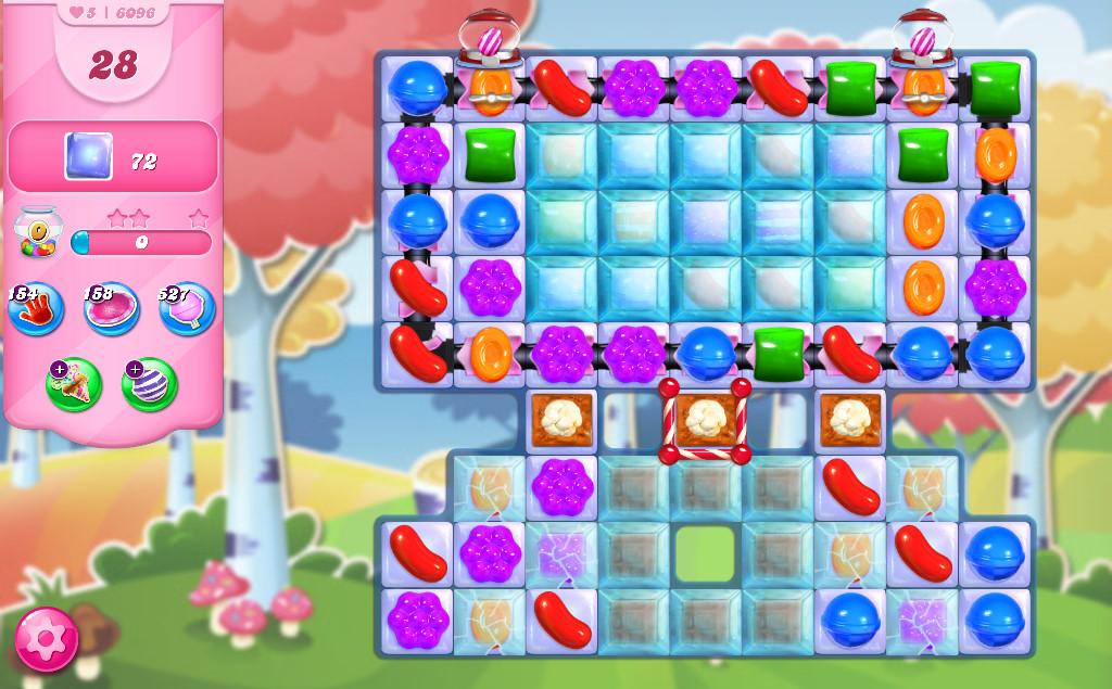 Candy Crush Saga level 6096