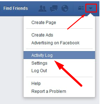 How To Check My Facebook History<br/>