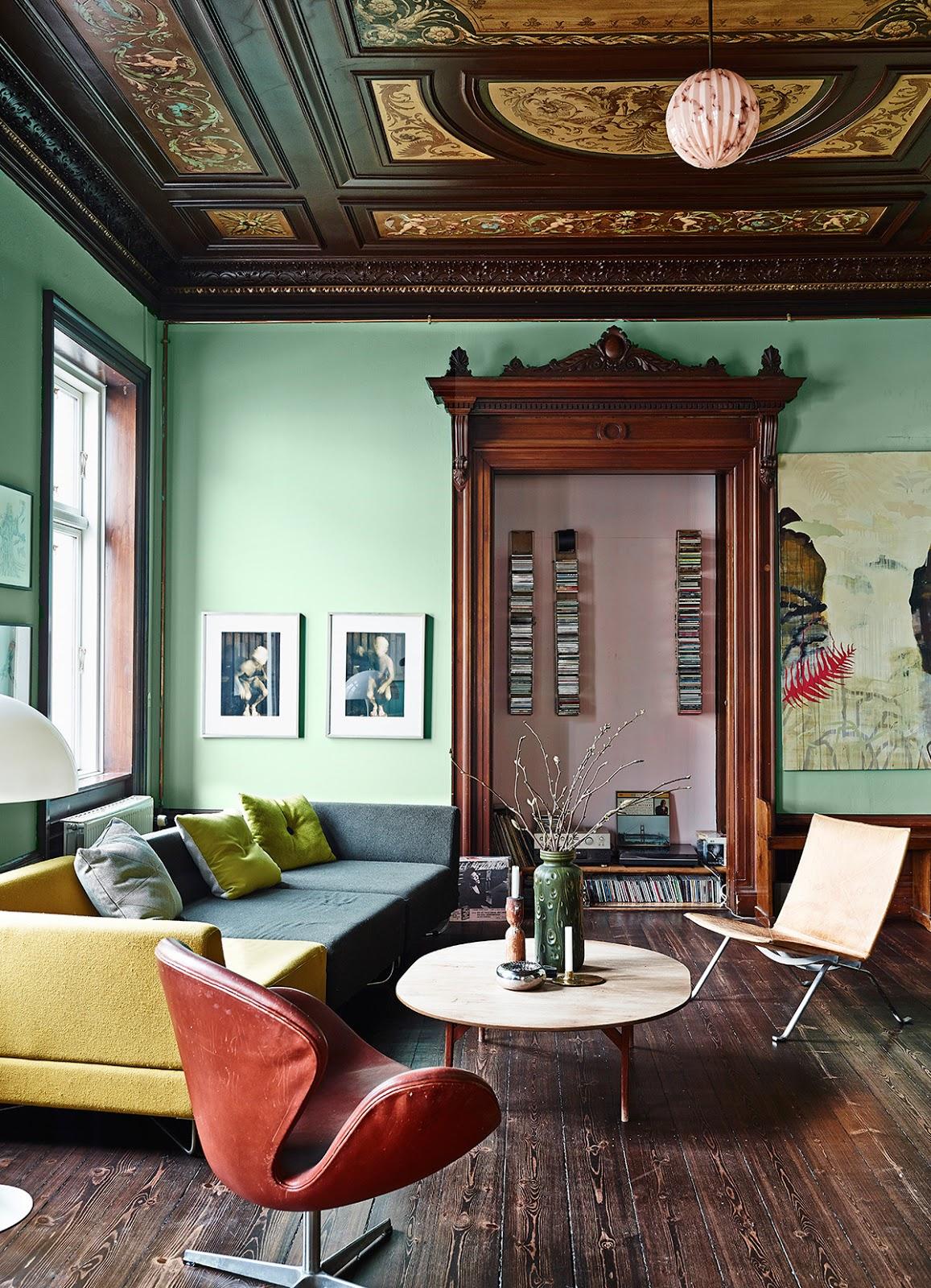 Apartamento En Copenhague Revista Dolcevita