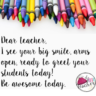 Dear Teacher, Do you ever feel overwhelmed, overworked, or like no one understands you at all? Do you often see the negative memes about teaching and feel deflated? Is your class this year particularly challenging? Are you not allowed to enjoy your weekends? Find out how you can love Mondays AND enjoy your Sundays too!! This post will touch your heart and inspire you in more ways than you can imagine. Regardless of what grade level you teach, you MUST check out this post!!