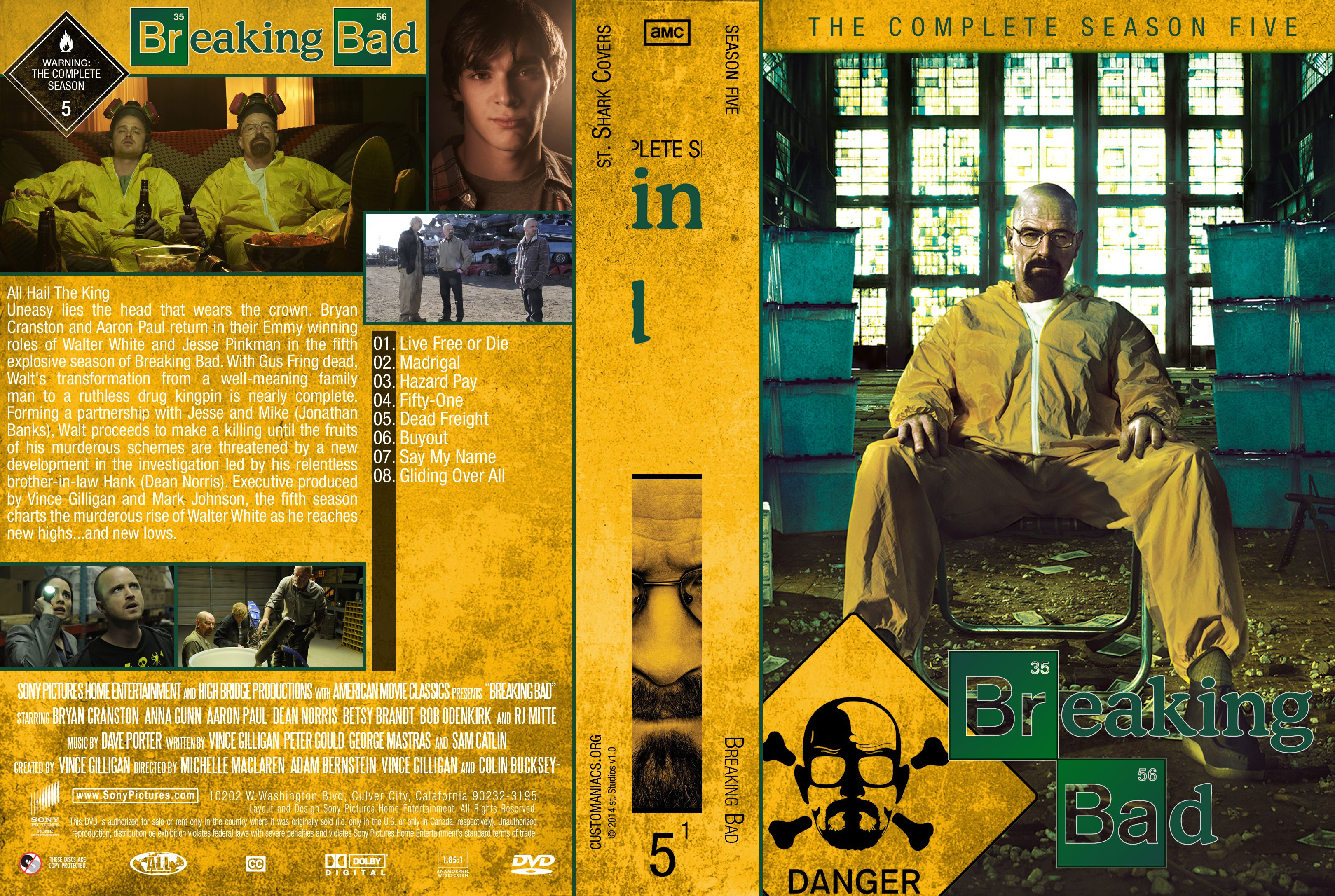 Breaking bad season 1 2 3 4 5 download