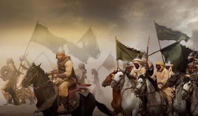 ilustrasi perang umat muslim