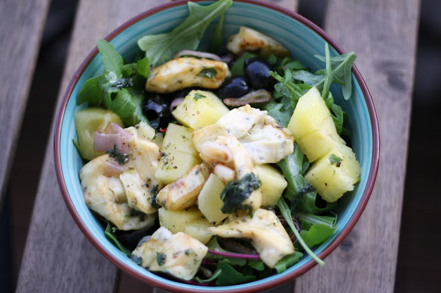 Salat Rezepte für Melonen Salat
