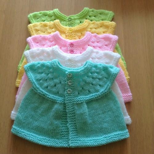 Baby Cardigans - Free Pattern