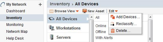 How to Delete or Clear Spiceworks Inventory