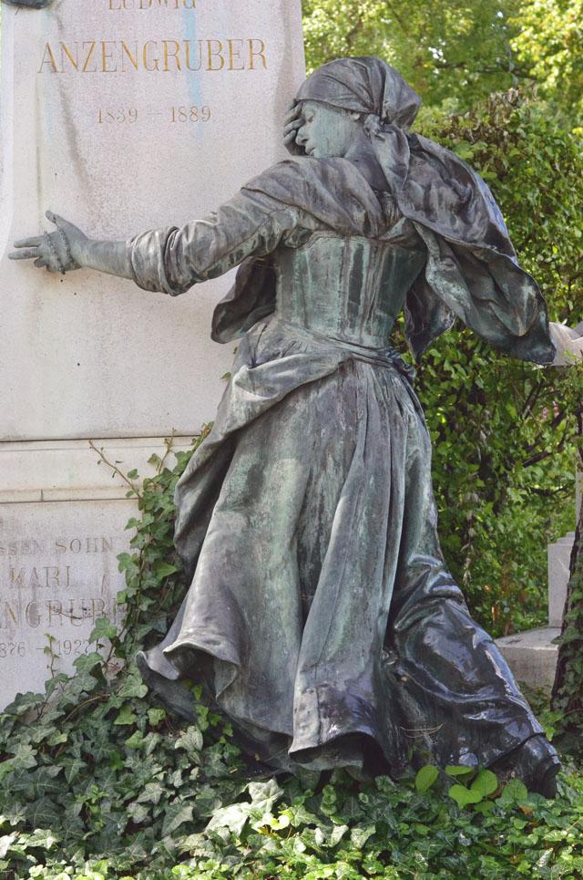 Ludwig Anzengruber headstone