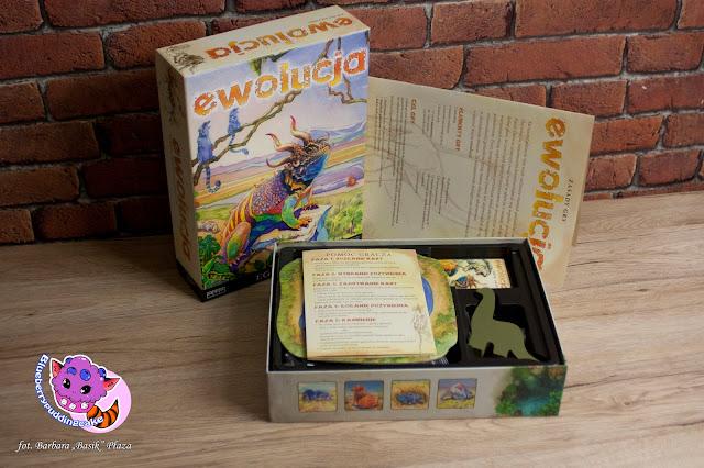 Gra planszowa od wydawnictwa Egmont - Ewolucja