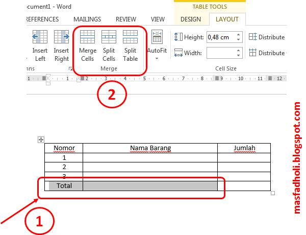 Cara membuat tabel dengan mudah di microsoft word mas fadholi blog cara membuat tabel dengan mudah di microsoft word ccuart Gallery
