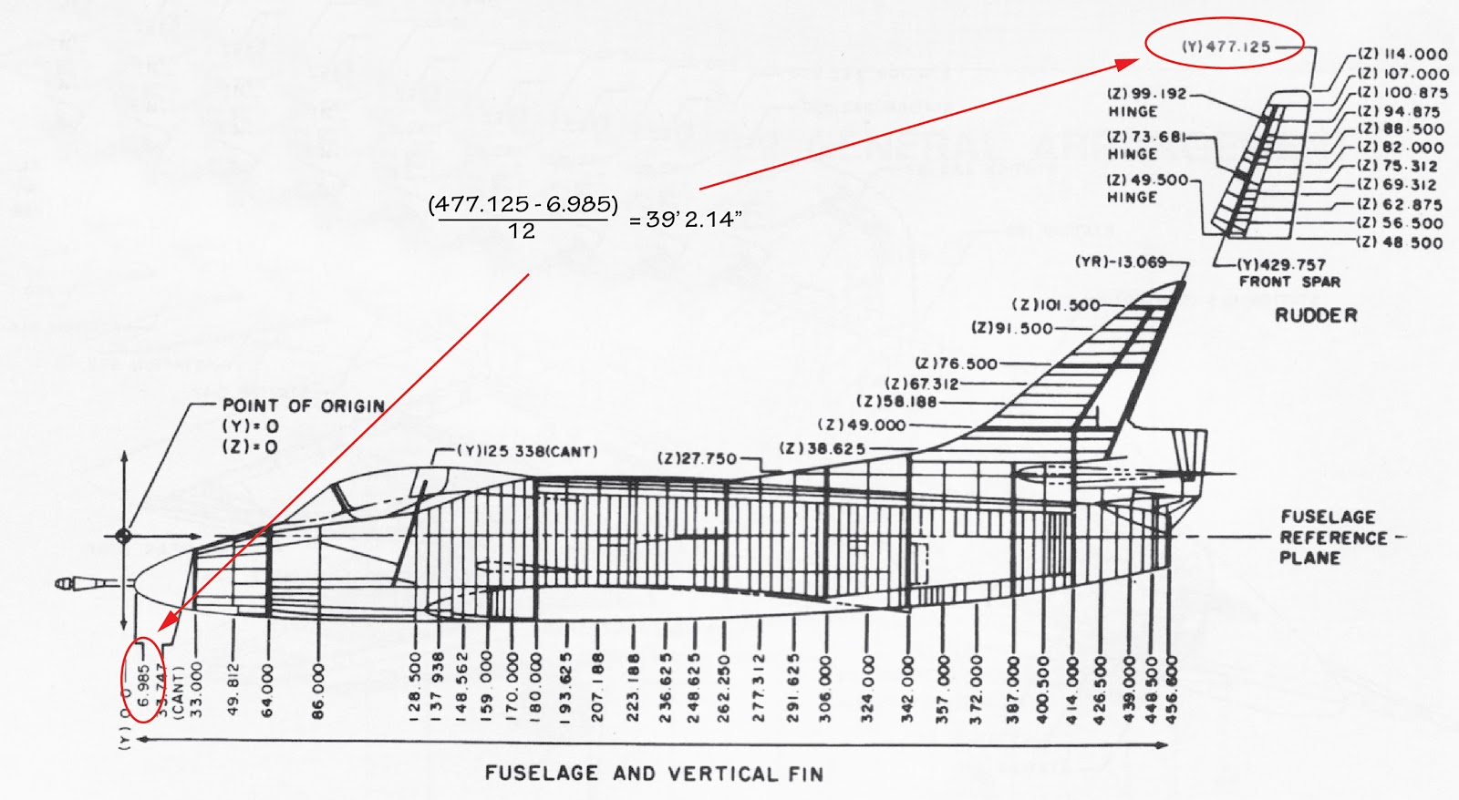 Douglas Aircraft Fuselage Station Diagram Pictures To Pin