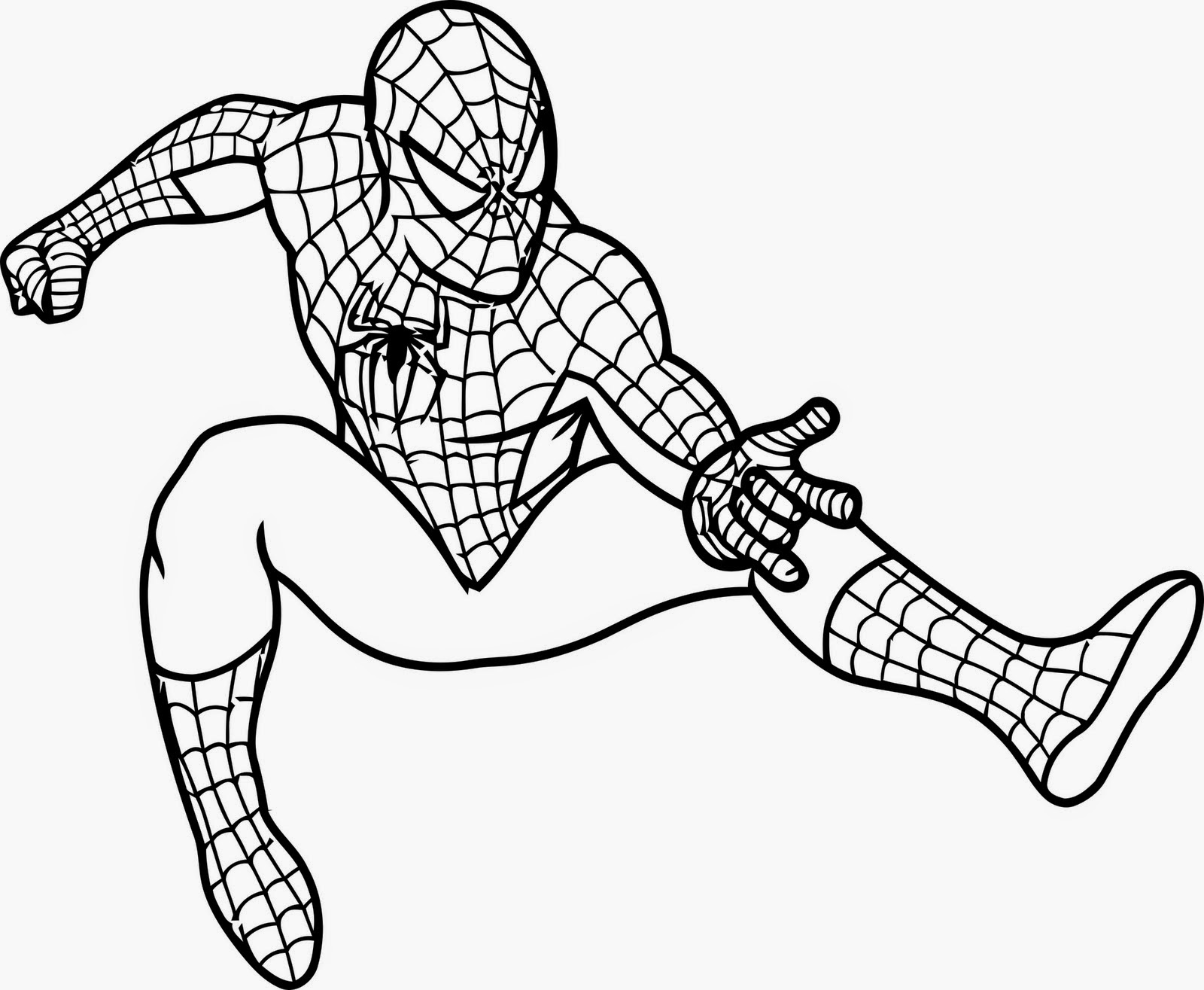The Holiday Site: Coloring Pages of Spiderman Free and Downloadable