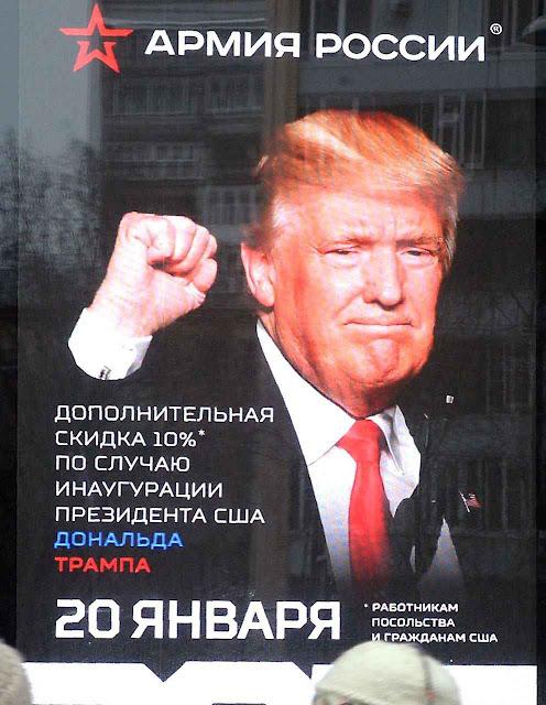 Putin mandou bajular Trump e favorecer sua candidatura. Por trás da mão estendida, está preparado o punho cerrado.