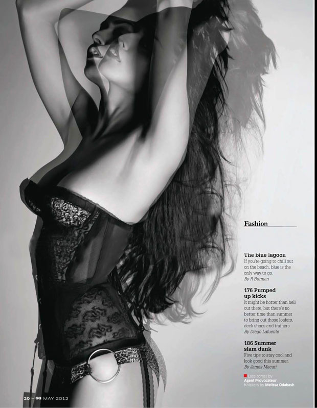 Nathalia Kaur in GQ Magazine 2012