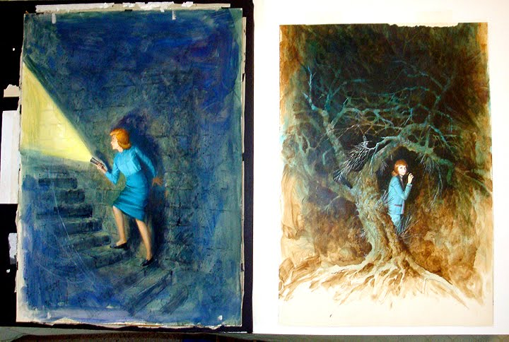 Book Cover Watercolor Paintings : Nancy drew sleuth rudy nappi paintings