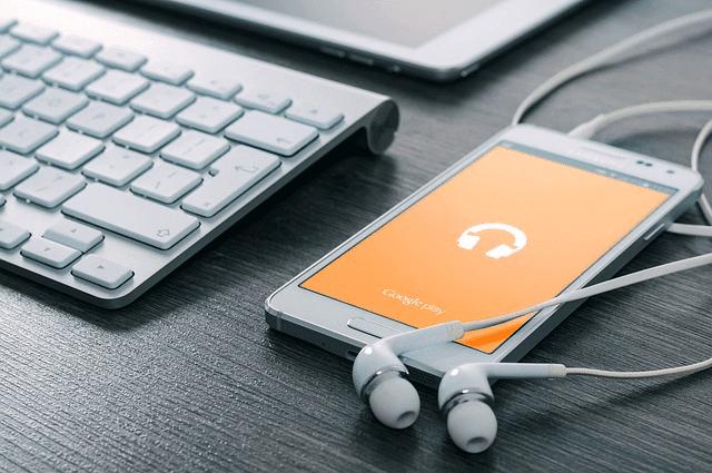pemutar musik bawaan di android
