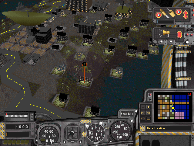 Screenshot of SimCopter