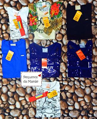 camisetas infantis marisol para revenda