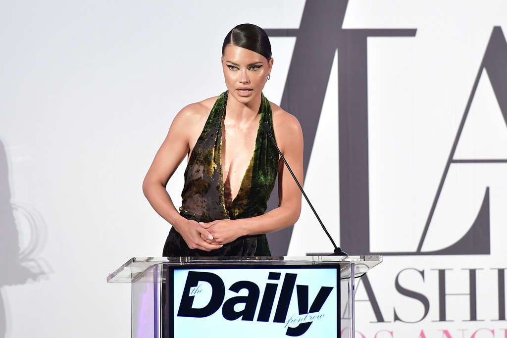 Adriana Lima - Daily Front Row Fashion Awards