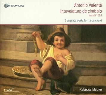 Valente, A.: Intavolatura De Cimbalo