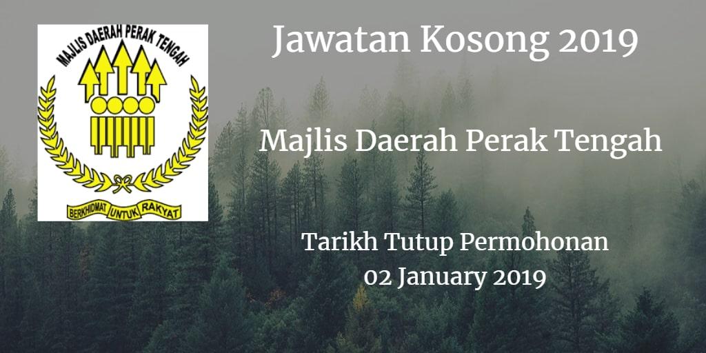 Jawatan Kosong MDPT 02 January 2019