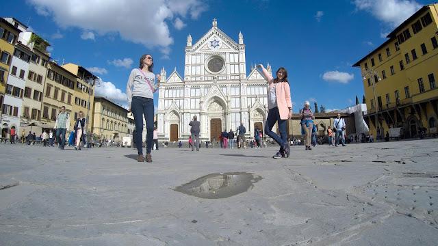 iglesia santa croce florencia italia