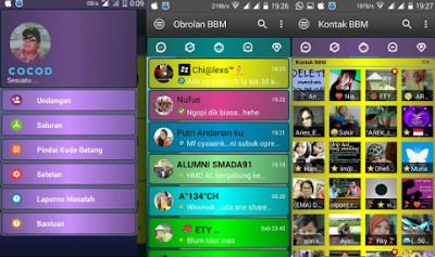 BBM MOD DISCO [BBM Kelap Kelip] 3.2.0.6