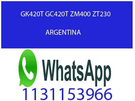 Thumbnail de Impresora de etiquetas ZEBRA gc420t térmica Argentina