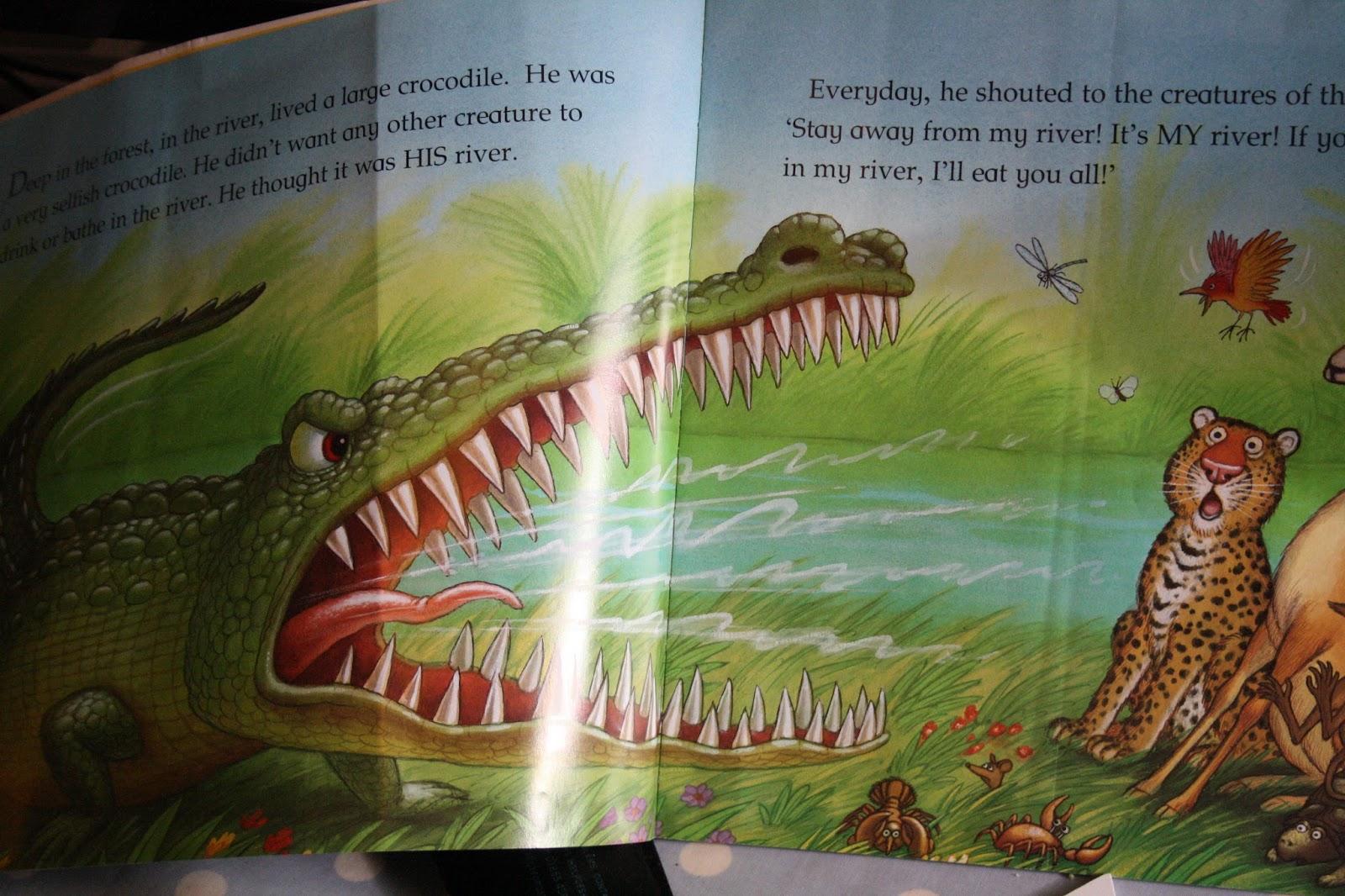 Hello The Selfish Crocodile