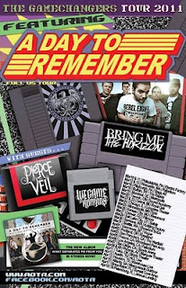 the music obsession tour dates a day to remember. Black Bedroom Furniture Sets. Home Design Ideas
