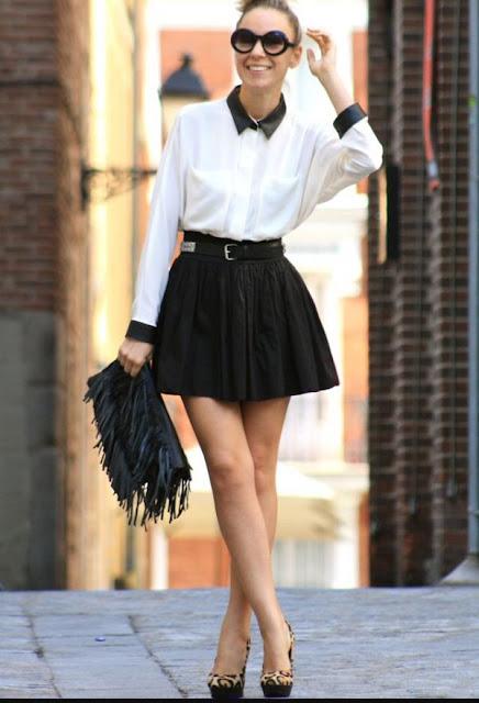 faldas cortas para señoras