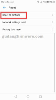 Verification email Google account Huawei Honor 7A