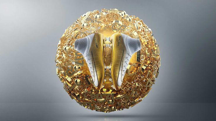 Nike creó unos botines especiales para celebrar el quinto balón de oro de Cristiano Ronaldo