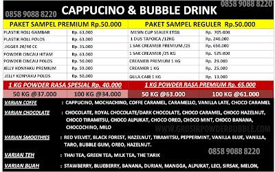 Daftar-Harga-Bubuk-Cappucino-Premium