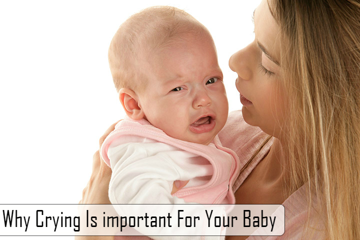 Why Crying Is important For Your Baby