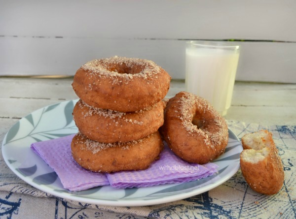 Easy Banana Donuts