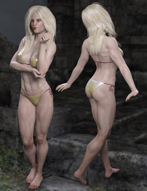 Princess Ali II for Genesis 3 Female